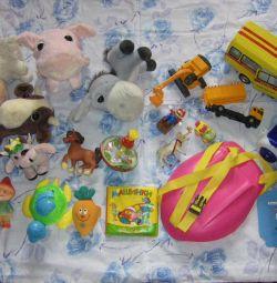 Bebekten beşe oyuncaklar