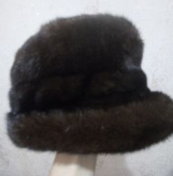 I will sell a mink cap