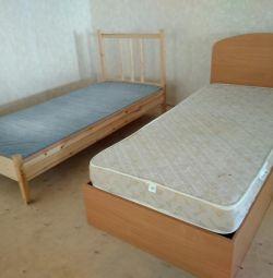 Χρησιμοποιείται κρεβάτι με στρώμα