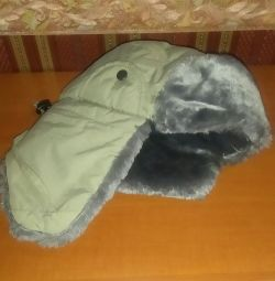 Hat with ear flaps