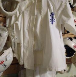 Кімоно, накладки, захист, для карате кіокушинкай