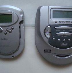 CD çalarlar ve kaset