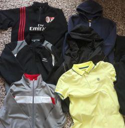 Пакет вещей на мальчика 13-15 лет (почта)
