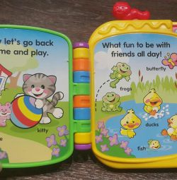 Educational book in English from Fisher Price