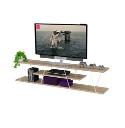 FURNITURE TV TARS IN CULOARE SONAMA-WHITE HM2239.01