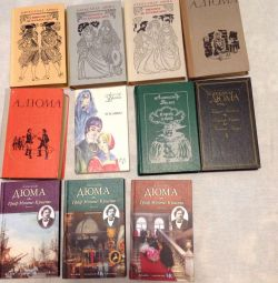 New books on 100 rubles A. Dumas.