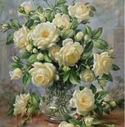 Diamond embroidery mosaic Bouquet