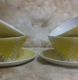 Tea pairs KAHLA GDR