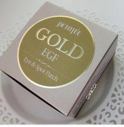Ετικέτες για τα μάτια iHerb χρυσό petitfee