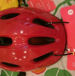 Children's helmet for rollerblading / cycling