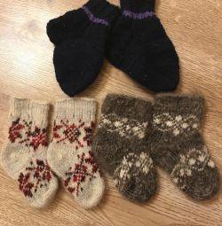 Yün çorap