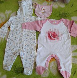 Ρούχα για κορίτσια (50 τεμάχια)