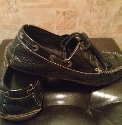 Kullanılan deri ayakkabı iyi durumda