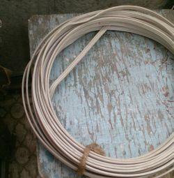 Three-core aluminum wire