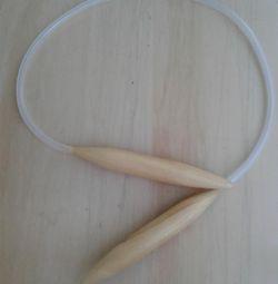 Bamboo Knitting Needle 20 mm