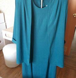 Jachetă de costum cu rochie