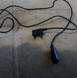 O parte din setul cu cască Sony Ericsson