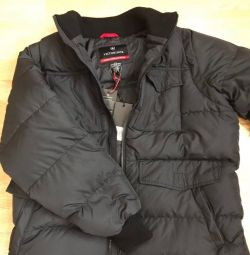 Jacket men's down jacket