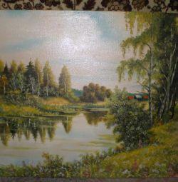Pictura ulei de panza V.Sudakov