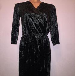 Νέο φόρεμα με βελούδο
