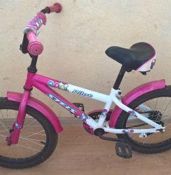 велосипед с доп. колесами