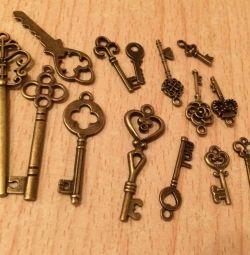 Набір ключиків різних