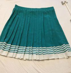Skirt 48/50 fold in fold, light, do not sweat