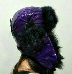 Модна шапка-вушанка