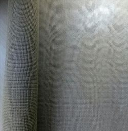 Джутовое полотно, рулон начатый