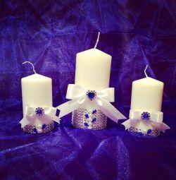свічки весільні
