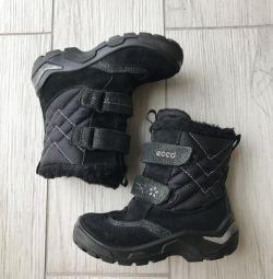 Зимние ботинки Ecco, р.25
