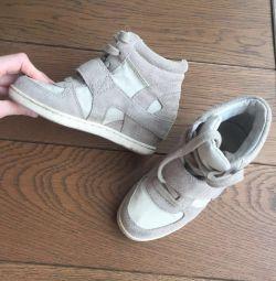 Ανδρικά παπούτσια στην πλατφόρμα των παιδιών Ash pp 30