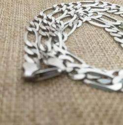 Lanț de argint pentru bărbați, 925 Sterling