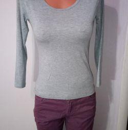Cu mânecă lungă Tricou tricotat