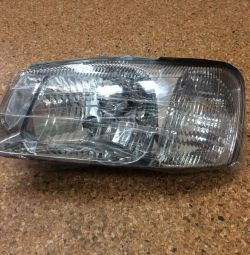Headlight left Hyundai Accent Tagas