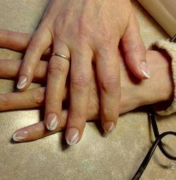 Classic manicure.