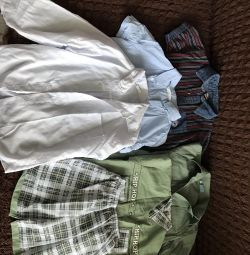 Shirts for a boy of 6-7 years