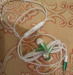 New headphones and headset