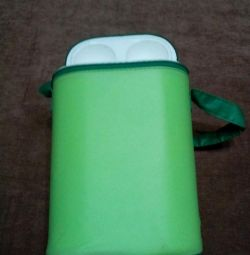 Thermos for children's bottles two compartments
