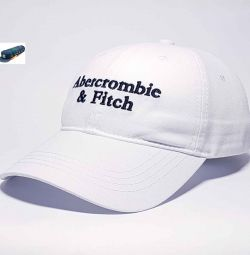 Abercrombie & Fitch Baseball Cap (White)