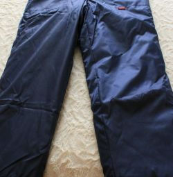 Heated trousers for fishermen