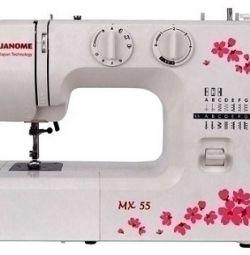 Janome MX 55 ραπτομηχανή