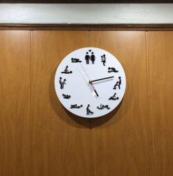Ρολόι τοίχου σε ερωτικό ύφος