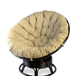 Кресло вращающееся с подушкой