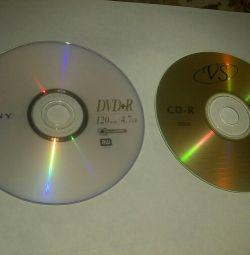 Blank discs cd dvd