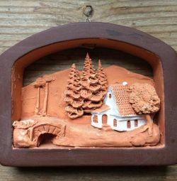 Панно керамика