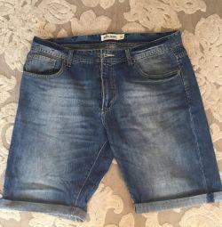 Men's jeans shorts size 52