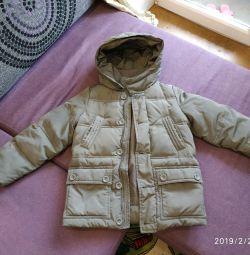 Куртка демисезон на хлопчика 110
