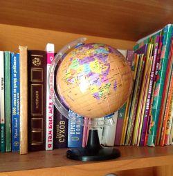 Globe 25cm, Maps