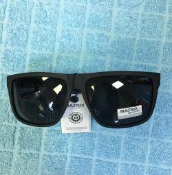 Güneş gözlükleri MATRIX, yeni